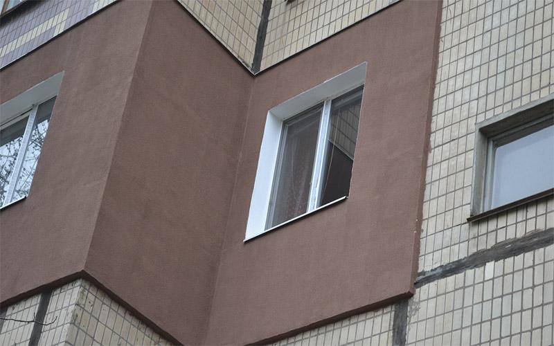 Утепление фасада в Витебском панельном доме