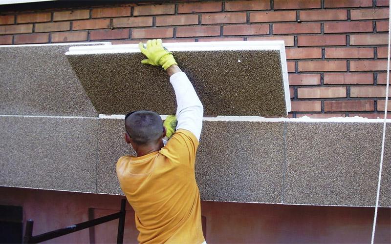 Выбор материалов для утепления фасада